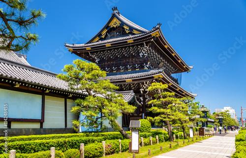 Foto op Plexiglas Japan Higashi Hongan-ji, a buddhist temple in Kyoto