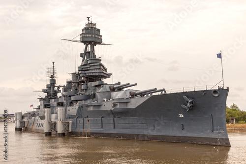 Photo  Battleship USS Texas