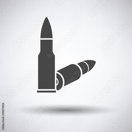 Stampa su Tela Rifle ammo icon