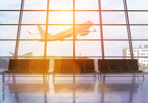Foto op Aluminium Luchthaven Airport terminal interior design