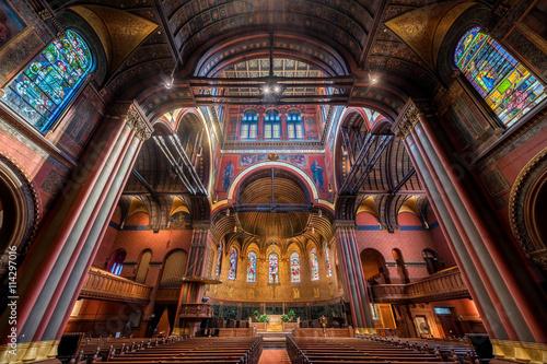 Papiers peints Edifice religieux Interior of the Trinity Church in Boston, Massachusetts