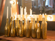 candles in the decor