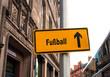 Schild 44 - Fussball