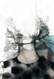 streszczenie portret kobiety. akwarela ilustracja - 114312872