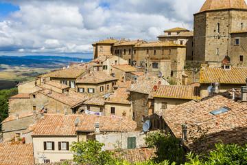 Panel Szklany Podświetlane Toskania Les villages de Toscane
