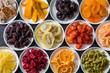 Leinwanddruck Bild - きれいなドライフルーツ Beautiful dried fruit