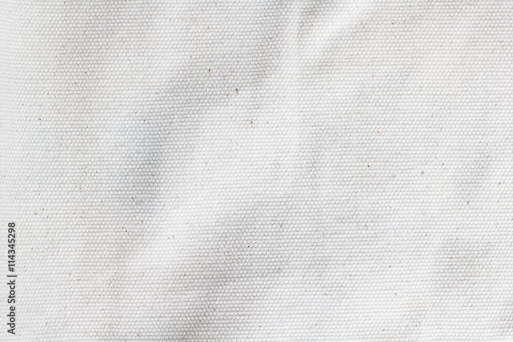 Fototapety, obrazy: white canvas texture background