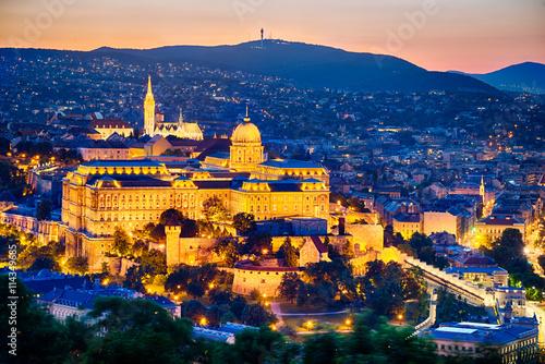 obraz PCV Castle of Budapest