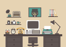 Retro Workspace