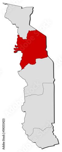 Map - Togo, Kara - Buy this stock vector and explore similar vectors ...