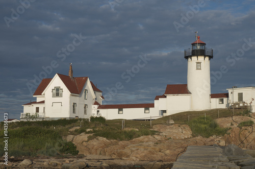 Fotografie, Obraz  Eastern point lighthouse, Gloucester, MA