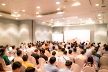 Blur Background Seminar Room