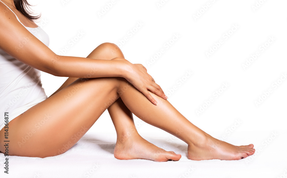 Fototapeta Perfect Legs - Beauty Of Smooth Skin With Epilation
