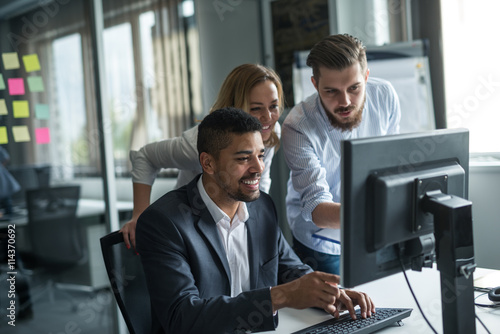 Working together on a computer