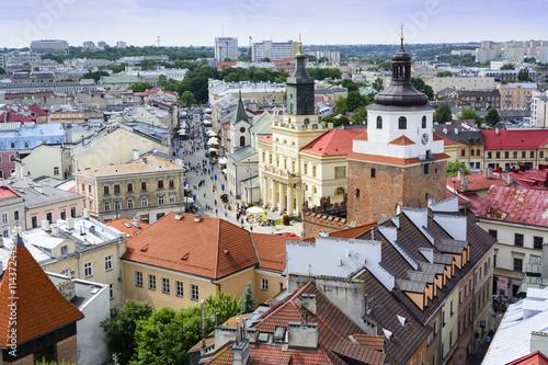 widok-z-lotu-ptaka-starego-miasta-w-lublinie