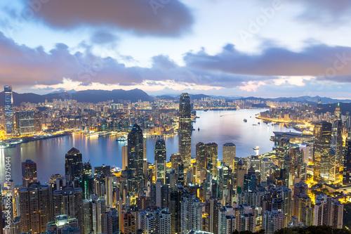 Fototapety, obrazy: Hong Kong sunrise