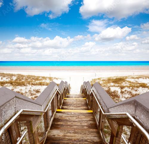 Fotografía Destin beach in florida ar Henderson State Park