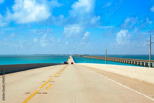 Valokuva  Florida Keys South Highway 1 scenic Florida US