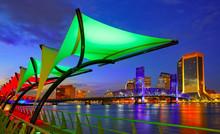 Jacksonville Skyline Sunset Ri...