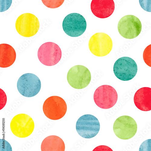 akwarela-kolorowy-wzor-kropki