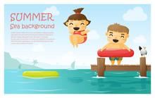 Enjoy Tropical Summer Holiday ...