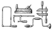 Illustration Of Woodworking Tool