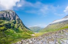 Scottish Highlands Valley At S...