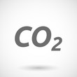Illustration of the text CO2