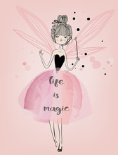 Cute Fairy Girl
