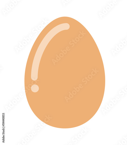 Obraz na płótnie delicious egg hen isolated icon design
