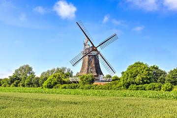 Obraz na Szkle Wiejski Windmühle