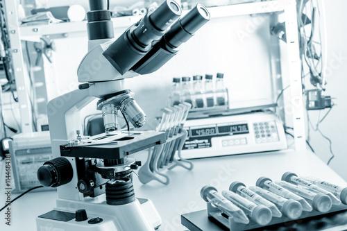 obraz lub plakat microscope