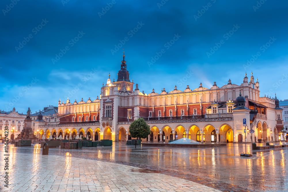 Fototapety, obrazy: Center of Krakow