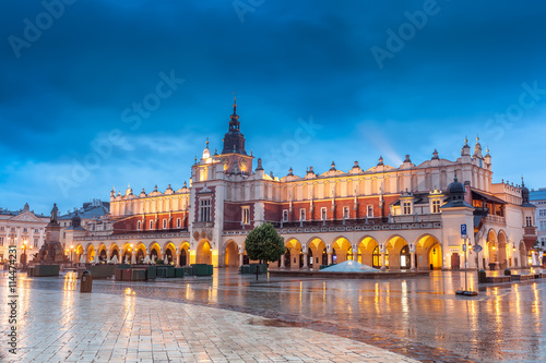 Photo  Center of Krakow