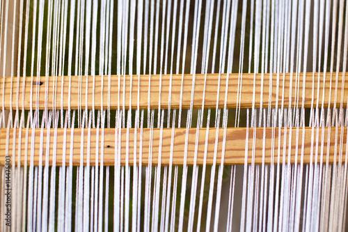 Fotografie, Obraz  threads on traditional handloom