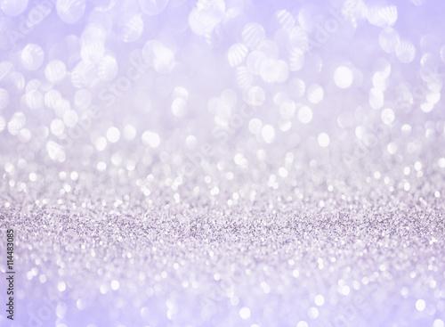 silver purple glitter bokeh texture background Plakat