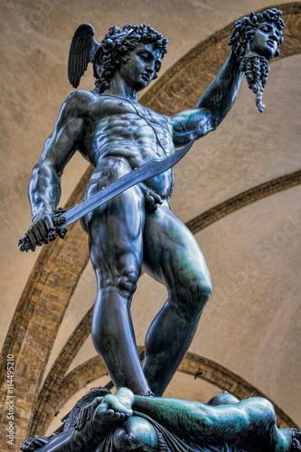 Fotografia, Obraz  Perseus mit dem Haupt der Medusa
