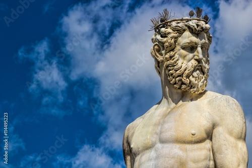 Fotografie, Obraz  Florenz, Neptun