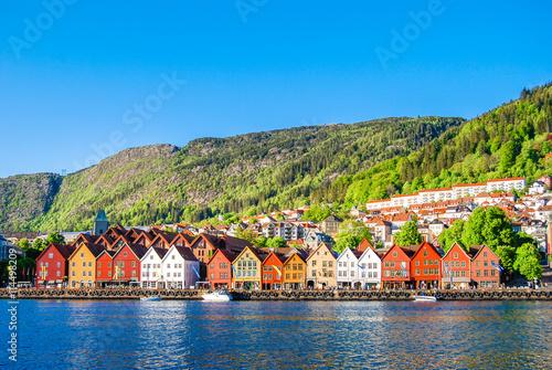 Bergen, Norway Wallpaper Mural