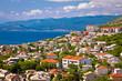 Town of Senj and Novi Vinodolski view