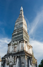 Wat Phra That Tha Uthen In Nakhonphanom Province,northeastern Of Thailand