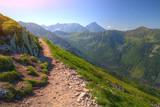 Tatry letni krajobraz