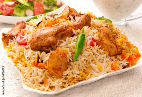 Chicken Spicy Biryani