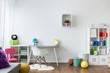 Leinwandbild Motiv Colorful room for children