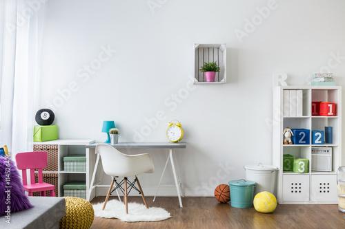 Fotografía  Colorful room for children