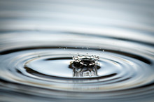 Water Drop Splash And Ripples ...