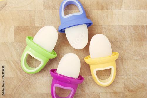 Breast Milk Popsicles for Infants Fototapet
