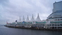 VANCOUVER - SEPTEMBER, 2014: Canada Place
