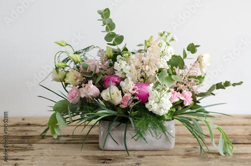 Fotomural flower arrangement