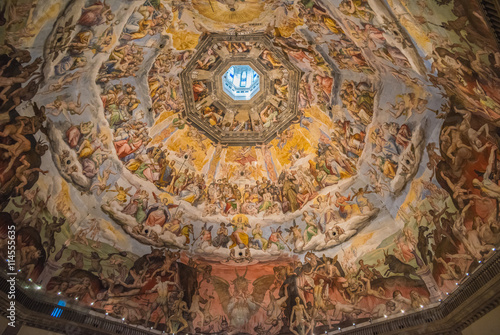 Fototapeta Cupola Duomo we Florencji, Toskania, Włochy
